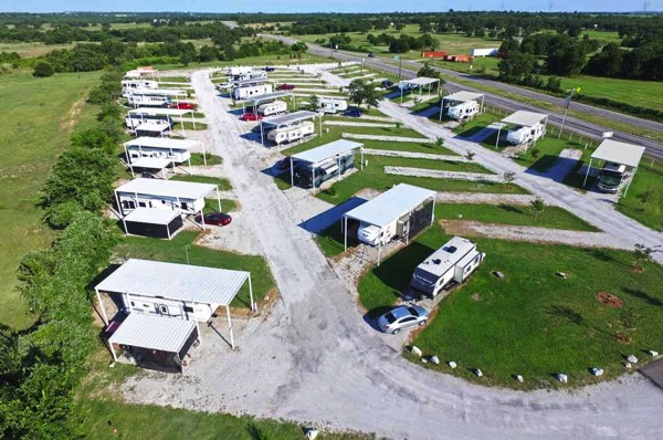 Covered Rv Sites Near Fort Worth Tx West Gate Rv Park